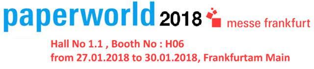 FRANKFURT PAPER WORLD 2018 (JAN)